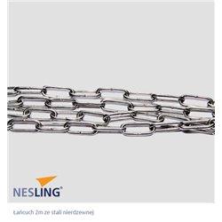 Łańcuch 2m ze stali nierdzewnej